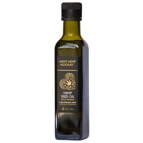 Pure Hemp Seed Oil (Cold Pressed - 250ml)